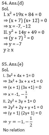 IBPS RRB Prelims Quantitative Aptitude Mini Mock 16- Quadratic Inequalities_90.1