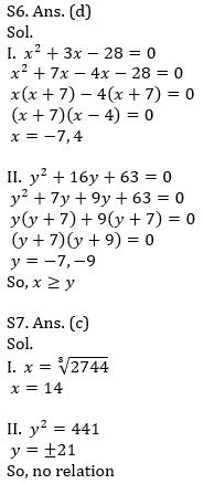 IBPS RRB Prelims Quantitative Aptitude Mini Mock 16- Quadratic Inequalities_100.1