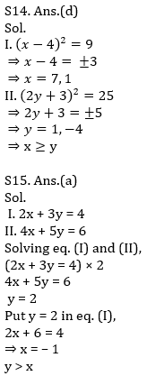 IBPS RRB Prelims Quantitative Aptitude Mini Mock 16- Quadratic Inequalities_140.1