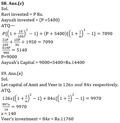 IBPS PO Prelims Quantitative Aptitude Mini Mock 36- Simple Interest & Compound Interest, Probability and Permutation & Combination_120.1