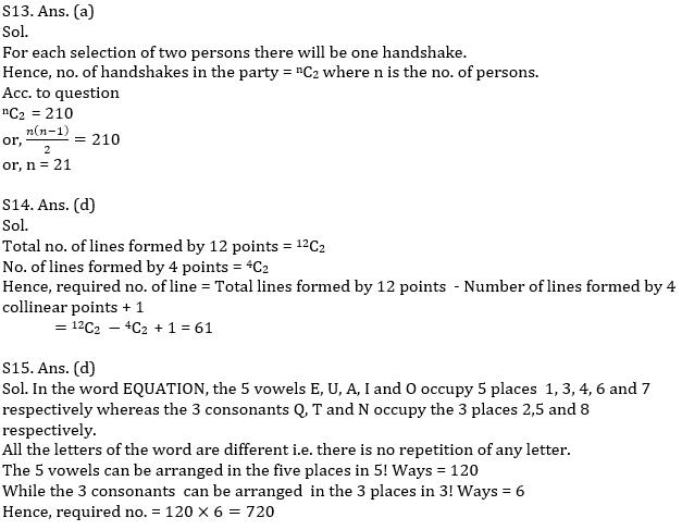 IBPS PO Prelims Quantitative Aptitude Mini Mock 36- Simple Interest & Compound Interest, Probability and Permutation & Combination_140.1