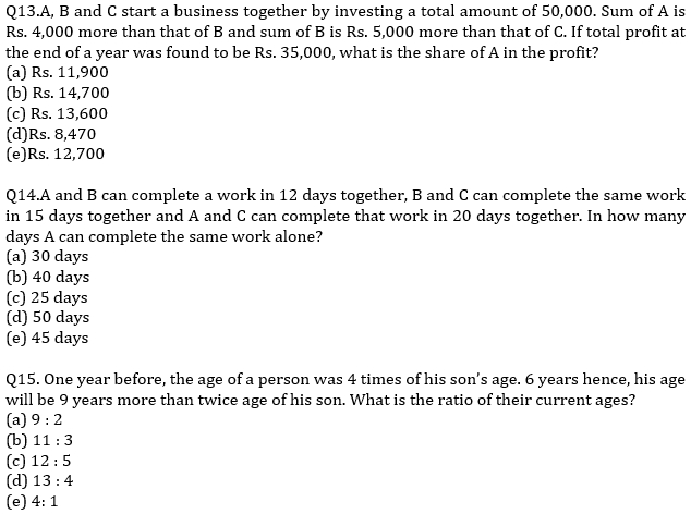 IBPS PO Prelims Quantitative Aptitude Mini Mock 39- Word Problem_90.1