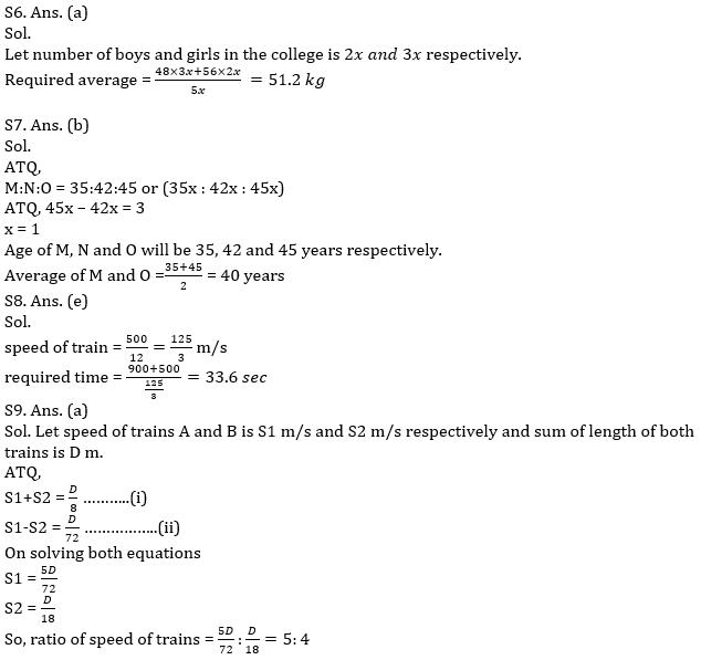 IBPS PO Prelims Quantitative Aptitude Mini Mock 40- Practice Set_130.1