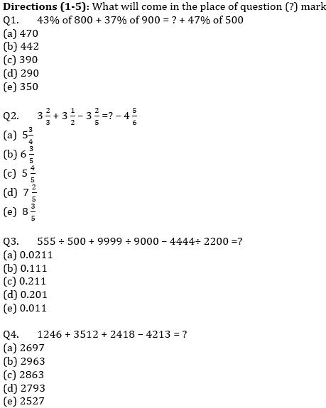 IBPS PO Prelims Quantitative Aptitude Mini Mock 41- Practice Set_50.1