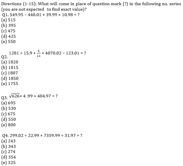 IBPS Clerk Prelims Quantitative Aptitude Mini Mock 1- Approximation_60.1