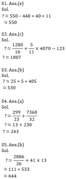 IBPS Clerk Prelims Quantitative Aptitude Mini Mock 1- Approximation_100.1