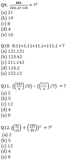 IBPS Clerk Prelims Quantitative Aptitude Mini Mock 2- Simplification_80.1