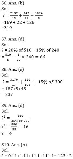 IBPS Clerk Prelims Quantitative Aptitude Mini Mock 2- Simplification_110.1