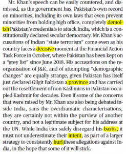 The Hindu Editorial Vocabulary of 29 September- Two speeches_60.1