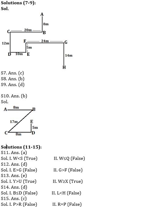 IBPS PO Prelims Reasoning Ability Mini Mock 44- Puzzle, Direction Sense & Inequalities_70.1