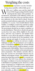The Hindu Editorial Vocabulary of 30 September- Weighing the Costs_50.1