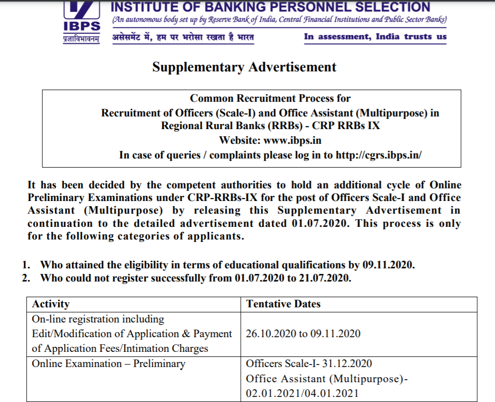 IBPS RRB Vacancy 2020 Increased: Check Additional IBPS RRB PO and Clerk Vacancies_60.1