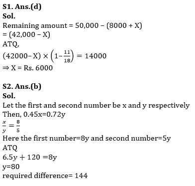 Quantitative Aptitude Quiz for RBI Assistant/ IBPS PO Mains 2020- 24 October_60.1
