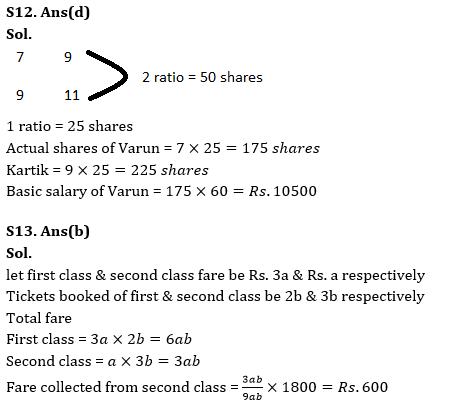 Quantitative Aptitude Quiz for RBI Assistant/ IBPS PO Mains 2020- 24 October_140.1