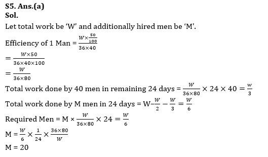 Quantitative Aptitude Quiz for RBI Assistant/ IBPS PO Mains 2020- 25th October_160.1