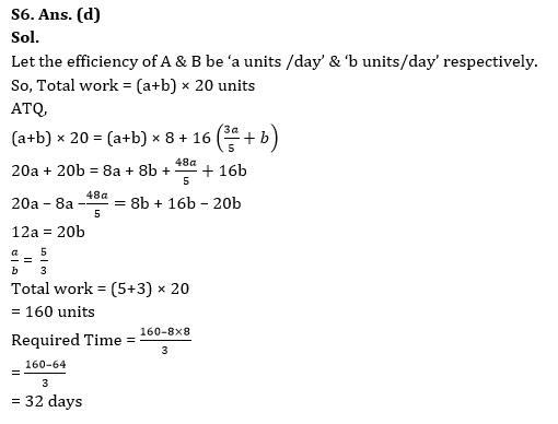 Quantitative Aptitude Quiz for RBI Assistant/ IBPS PO Mains 2020- 25th October_170.1