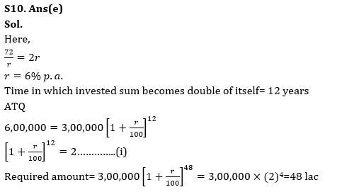 Quantitative Aptitude Quiz for RBI Assistant/ IBPS PO Mains 2020- 25th October_210.1