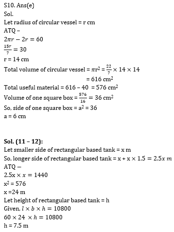 Quantitative Aptitude Quiz for RBI Assistant/ IBPS PO Mains 2020- 29th October_110.1