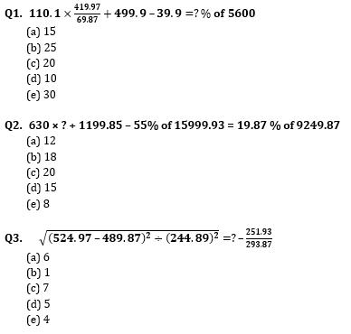 Quantitative Aptitude Quiz for IBPS Clerk Prelims 2020- 31st October_50.1
