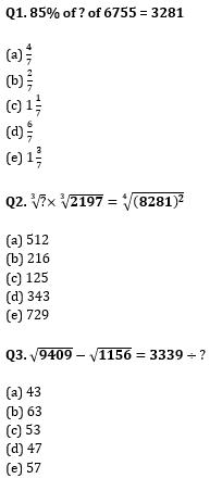 Quantitative Aptitude Quiz for IBPS Clerk Prelims 2020- 2nd November_50.1
