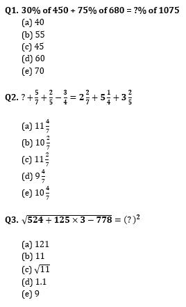 Quantitative Aptitude Quiz for IBPS Clerk Prelims 2020- 6th November_60.1