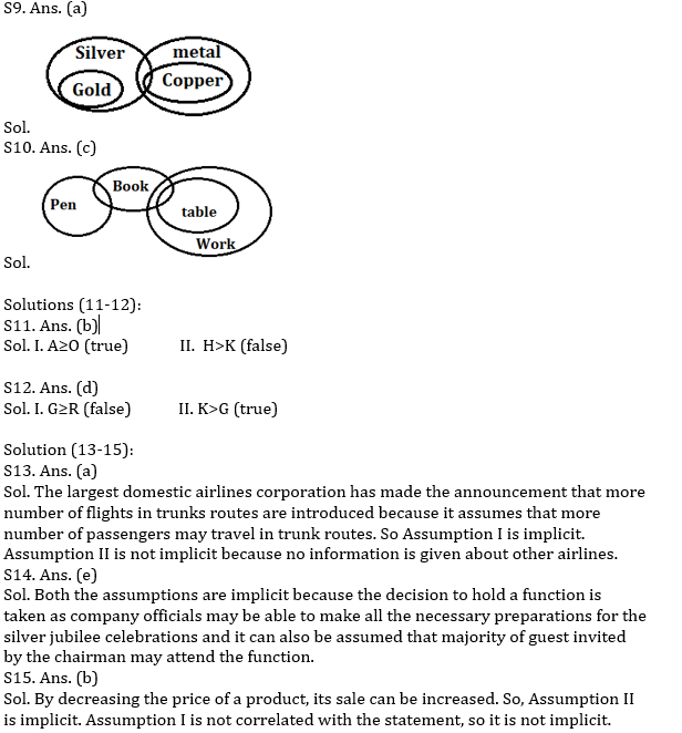 Reasoning Ability Quiz for RBI Assistant/ IBPS Mains 2020, 12th November- Puzzle & Logical_60.1
