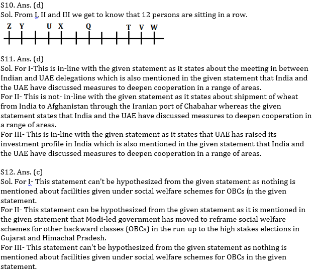 Reasoning Ability Quiz for RBI Assistant/ IBPS Mains 2020, 13th November- Puzzle & Miscellaneous_60.1